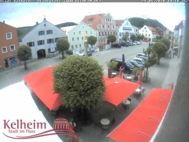 Livebild vom Stadtplatz in Kelheim. Derzeit Inaktiv !